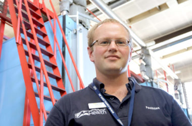 Mechanical compliance coordinator Duncan Jarvie oversees the heating systems at both Wairau and Nelson Hospitals. Photo: File.