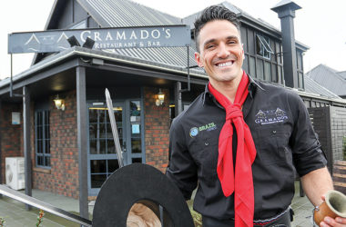 Gramado's owner Saulo Camillo is organising a huge community picnic and BBQ. Photo: Matt Brown.