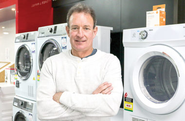 AppliancePlus Blenheim owner Michael Fitzpatrick. Photo: Matt Brown.