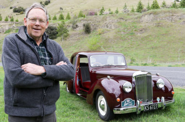 About 65 members of the NZ Alvis Club, including Marlburian Ashley McKenzie, pictured, will treat the region to a rally of the iconic vehicle. Photo: Matt Brown.