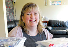 Foster Hope coordinator Leonie McLachlan is grateful for all the donations the charity receives.  File photo.