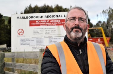 Marlborough District Council solid waste manager Alec McNeil hopes PONG will offer insight into the region's bad smells. Photo: File.