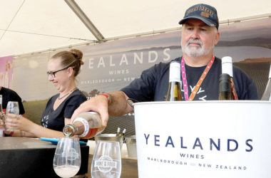 The iconic festival attracts wine makers from across the region. File photo.