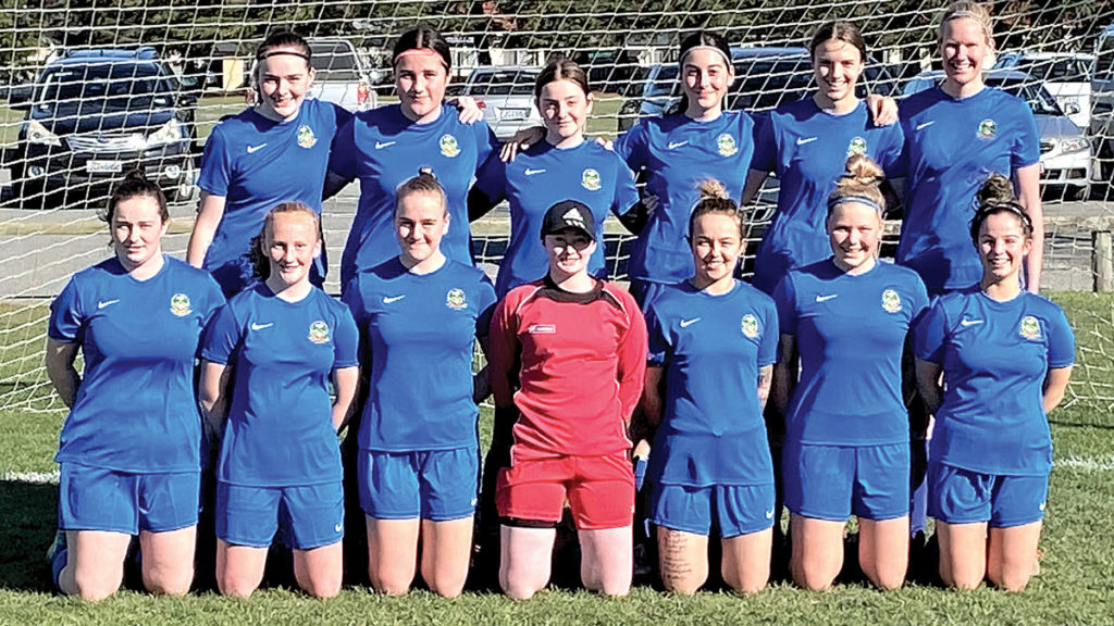 The Blenheim Valley Bullets women's side. Photo: Supplied.