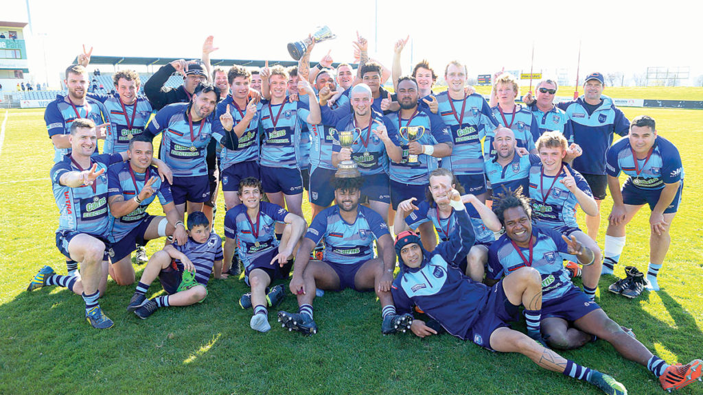 The Central division two side downed Awatere in a thrilling final. Photo: Shuttersport.