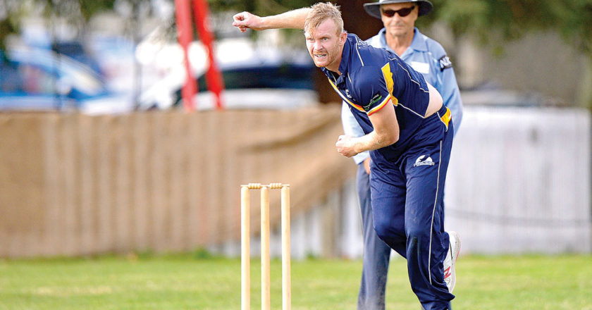 Pace bowler Nick Weaver was Marlborough's player of the season in 2019-20. Photo: Shuttersport.