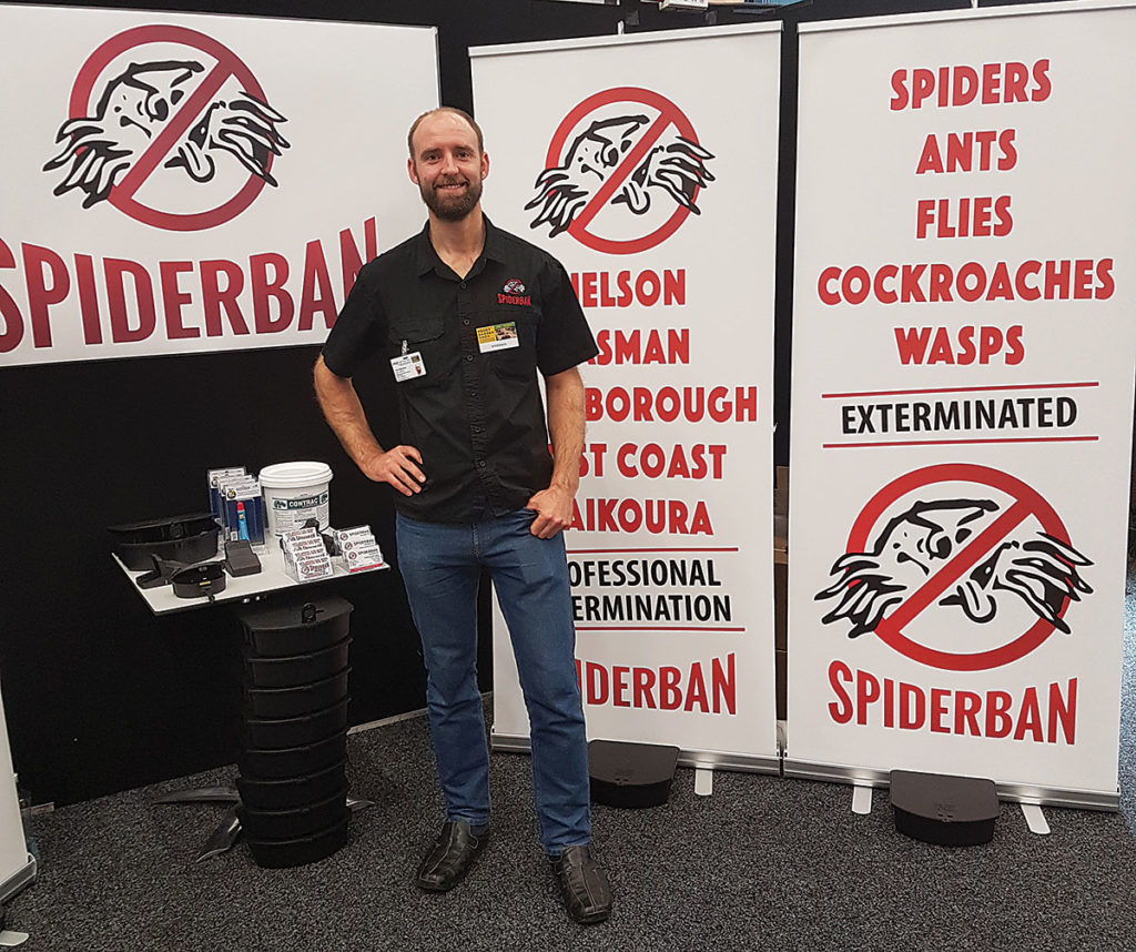 Spiderban Marlborough owner and pest control expert John Sigglekow. Photo: Supplied.