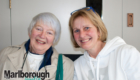 Sylvia Nash and Sue Johnstone.