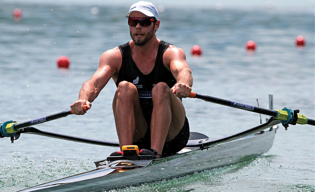 Robbie Manson has opted for a different build-up to the world champs this year. Photo: Rowing NZ.