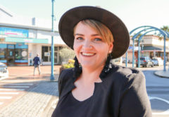Hairdresser Courtney Stevenson has big plans to open a free community salon. Photo: Matt Brown.