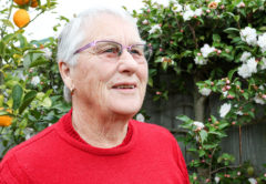 June Maslin was successfully treated for bowel cancer after an at-home test kit detected it early. Photo: Paula Hulburt.