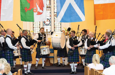 The Blenheim and Districts Highland Pipe Band are putting on their first ceilidh in 15 years. Photo: Supplied.