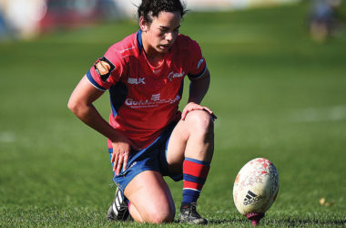 Goal-kicking Moutere five eighth Hayley Hutana is expected to be a key member of the Tasman Mako women's side in 2019 as they contest the Farah Palmer Cup.  Photo: Shuttersport.