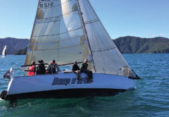 Waikawa yacht Bump n' Grind in action during last year's event. Photo: Supplied.