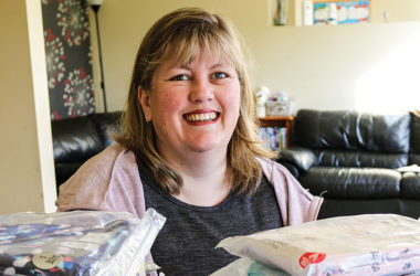 Foster Hope coordinator Leonie McLachlan is grateful for all the donations the charity receives. Photo: Paula Hulburt.