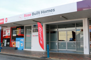 Rose Built Homes office in the Blenheim CBD. Photo: Matt Brown.