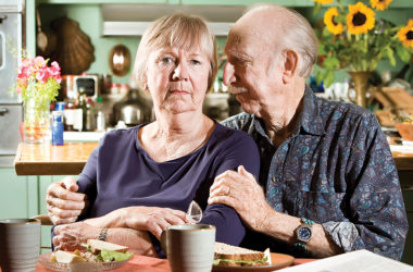 A diagnosis of Alzheimers changes life for the patient and their family. Photo: Models/Supplied.