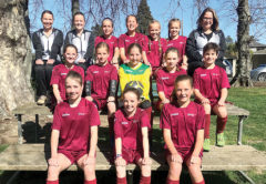 The Marlborough 12th grade girls' team were in action at A and P Park from Sunday until Tuesday. Photo: Supplied.