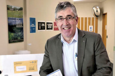 Electoral officer Dean Heiford says Tuesday is the cut-off date to send votes using the postal service. Photo: Glyn Walters.