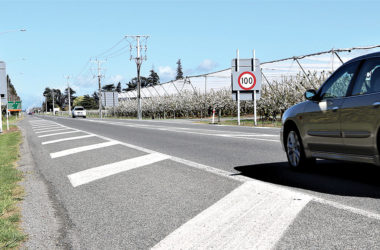 The NZTA is recommending the speed limit between Blenheim and Nelson be cut. Photo: Paula Hulburt.