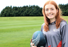 Ella Donald has been playing touch since she was a Year Five pupil at Havelock School. Photo: Peter Jones.