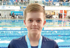 Ryan Marsh picked up a silver and a bronze medal in Auckland. Photo: Supplied.