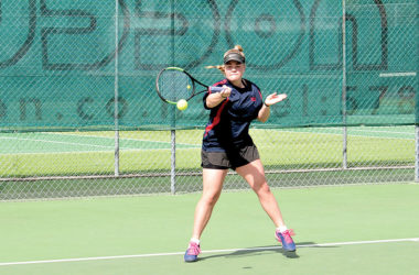Tasman 14s player Lily Parkinson in action. Photo: Peter Jones.