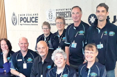 The Blenheim Community Patrol group. Photo: Supplied.