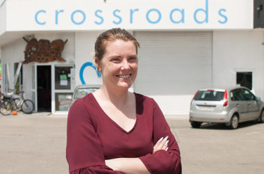 Crossroads Marlborough office manager Lauren Dodson. Photo: Matt Brown.