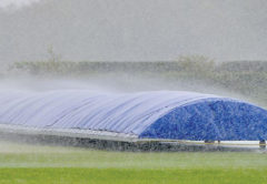 Local cricket games were rained off at the weekend. File photo.