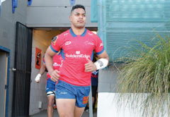 Fetuli Paea's strong NPC form has earned him a Super Rugby contract. Photo: Shuttersport.