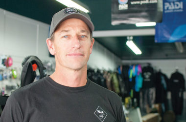 Blenheim Dive Centre owner Bryan Bailey. Photo: Matt Brown.