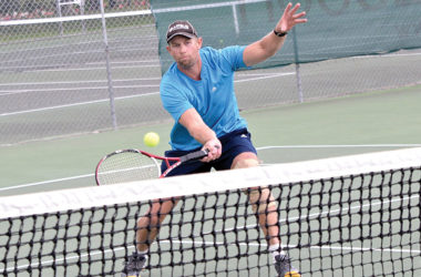 Darin Herd, from the Renwick CPR team, picked up two wins on Wednesday. Photo: Peter Jones.