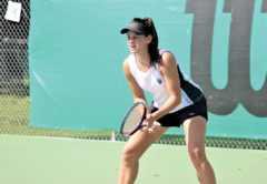Jade Otway won the national under-18 doubles crown. Photo: Supplied.