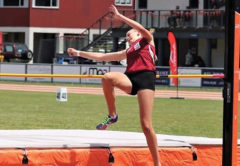 Jorja Bacchus claimed medals at both the North Island and South Island Colgate Games. Photo: Supplied.