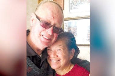 David and Leonora McKelvey can now stay together after a four-year battle with Immigration NZ. Photo: Supplied.