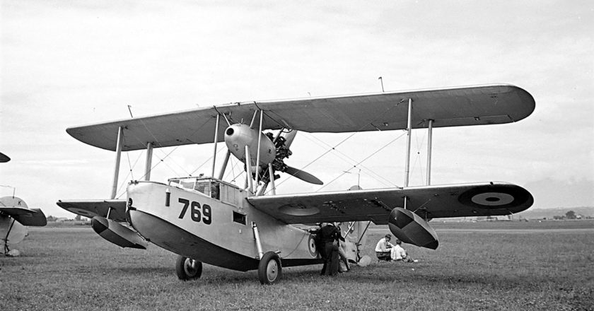 A Walrus amphibian biplane. Photo: Supplied.