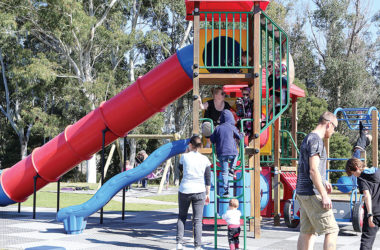 Mark Smith Reserve in Blenheim is one of four parks set to benefit from an upgrade. Photo: Paula Hulburt.