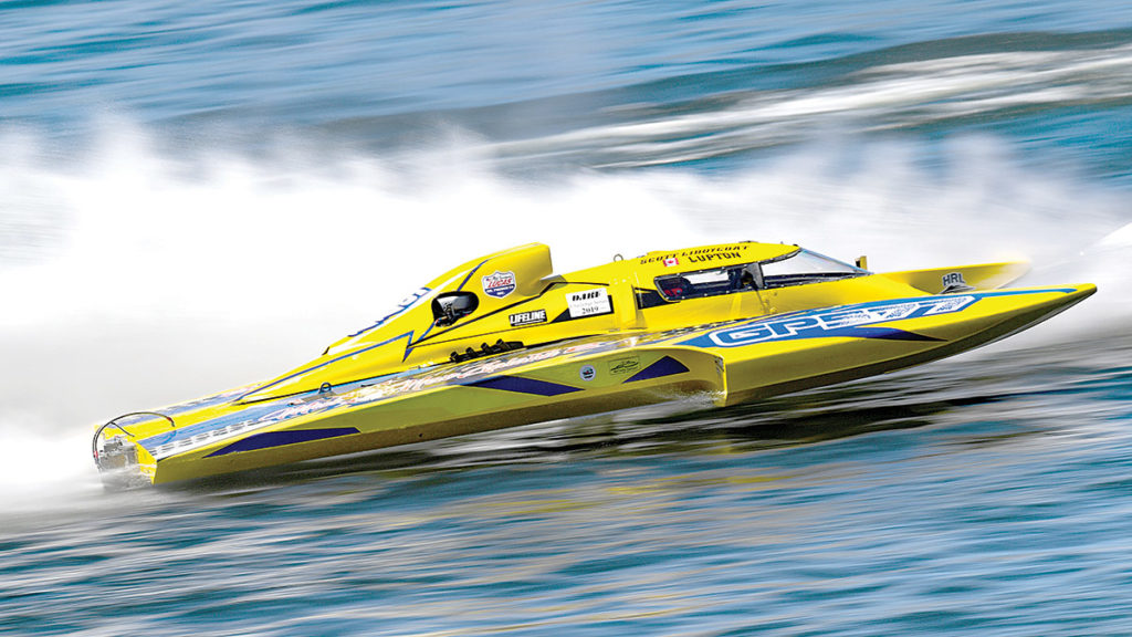 Canadian driver Scott Liddycoat will pilot the impressive Miss New Zealand. Photo: Supplied.