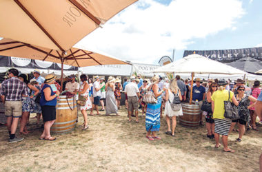 People will not be allowed to smoke at the Marlborough Wine and Food Festival. Photo: Supplied.