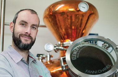 Elemental Distillers co-owner Ben Leggett. File photo.