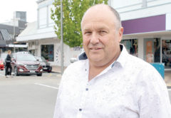 Marlborough Roads manager Steve Murrin says the company will build the roundabout, then seek costs through development contributions. Photo: Chloe Ranford/LDR.