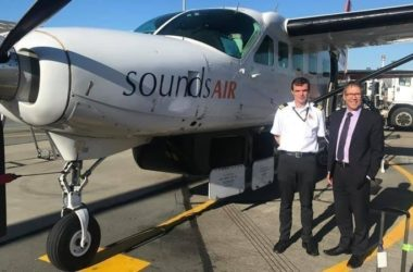 MP Stuart Smith has launched an online petition to help save Sounds Air. Photo: Supplied