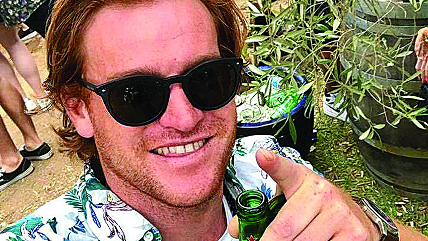 Blenheim man Mark Bishell was arrested on Saturday on a yacht allegedly trafficking methamphetamines. Photo: Supplied.