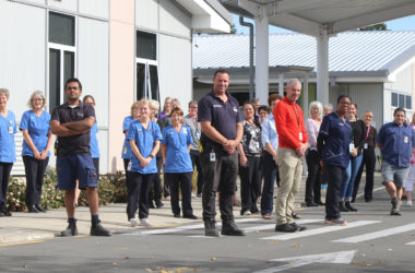 Essential workers from every department at Wairau Hospital have ensured patients get the care they need. Photo: Paula Hulburt