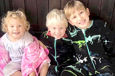 Three siblings were hurt after a two-car crash in Riverlands. Photo: Supplied.