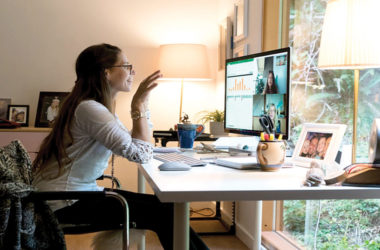 Working from home could become the new norm for many staff. File photo.