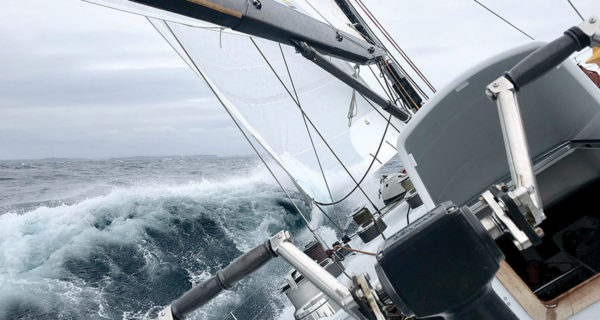 Jo Ivory is relishing her time with the NZ Sailing Trust. Photo: Supplied.