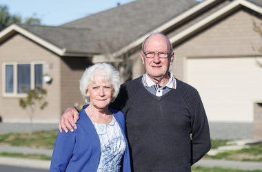 Derek and Maureen Waller long to stay in New Zealand to be nearer to their family and friends. Photo: Matt Brown.