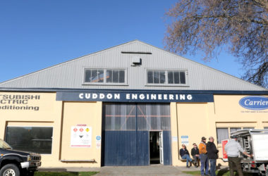 Cuddon Engineering. Photo: Matt Brown.